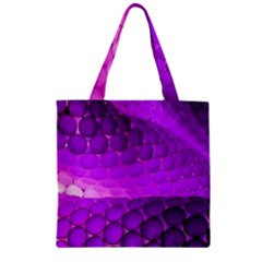Circular Color Zipper Grocery Tote Bag by Amaryn4rt