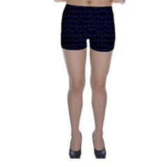 Smooth Color Pattern Skinny Shorts by Amaryn4rt