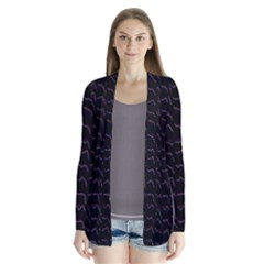 Smooth Color Pattern Cardigans by Amaryn4rt