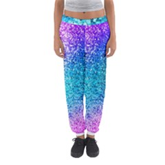 Rainbow Sparkles Women s Jogger Sweatpants by Brittlevirginclothing
