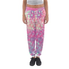 Colorful Sparkles Women s Jogger Sweatpants by Brittlevirginclothing