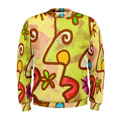 Abstract Faces Abstract Spiral Men s Sweatshirt by Amaryn4rt