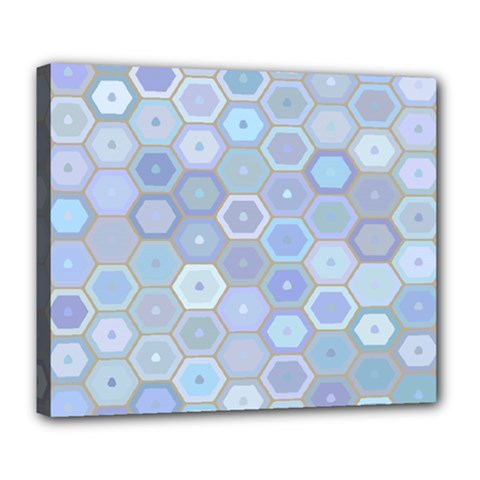Bee Hive Background Deluxe Canvas 24  X 20   by Amaryn4rt