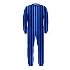 Blue Lines Background Onepiece Jumpsuit (kids) by Amaryn4rt