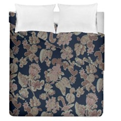 Fabrics Floral Duvet Cover Double Side (Queen Size) by Jojostore