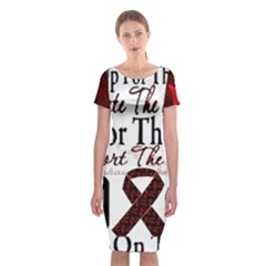 Sickle Cell Is Me Classic Short Sleeve Midi Dress by shawnstestimony