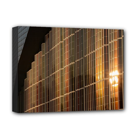 Swisstech Convention Center Deluxe Canvas 16  x 12   by Amaryn4rt