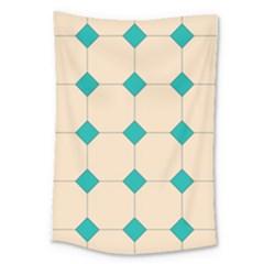 Tile Pattern Wallpaper Background Large Tapestry