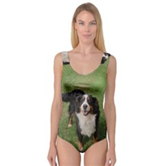 Bernese Mountain Dog Full Princess Tank Leotard  by TailWags