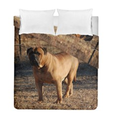 Bullmastiff Full Duvet Cover Double Side (Full/ Double Size) by TailWags