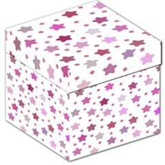 Star Purple Storage Stool 12   by AnjaniArt
