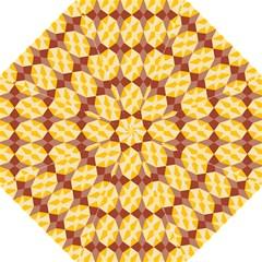 Star Brown Yellow Light Straight Umbrellas by AnjaniArt