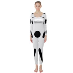 Air Sports Pictogram Long Sleeve Catsuit by abbeyz71