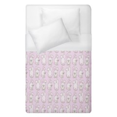 Rabbit Pink Animals Duvet Cover (single Size) by AnjaniArt