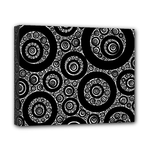 Selected Figures From The Paper Circle Black Hole Canvas 10  X 8  by AnjaniArt