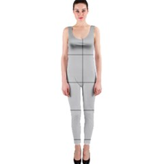 Abstract Architecture Contemporary Onepiece Catsuit by Amaryn4rt