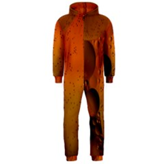 Abstraction Color Closeup The Rays Hooded Jumpsuit (men)