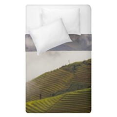 Agriculture Clouds Cropland Duvet Cover Double Side (single Size)