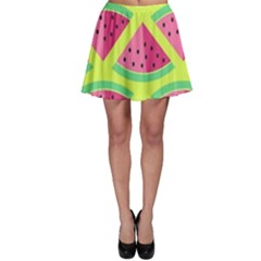 Lovely Watermelon Skater Skirt by Brittlevirginclothing
