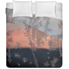 Hardest Frost Winter Cold Frozen Duvet Cover Double Side (california King Size)