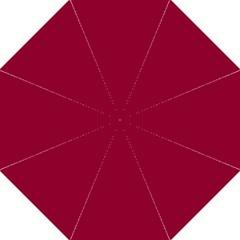 Deep Red Hook Handle Umbrellas (medium) by Valentinaart