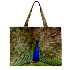 Peacock Animal Photography Beautiful Medium Tote Bag by Amaryn4rt