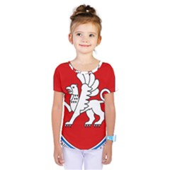 Coat of Arms of Crimea Kids  One Piece Tee by abbeyz71