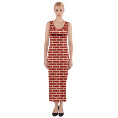Brick Lake Dusia Texture Fitted Maxi Dress by Amaryn4rt