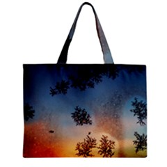 Hardest Frost Winter Cold Frozen Zipper Mini Tote Bag by Amaryn4rt
