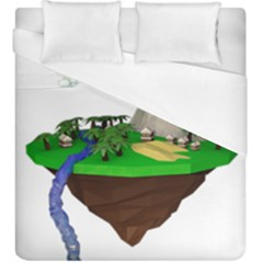 Low Poly 3d Render Polygon Duvet Cover (king Size) by Amaryn4rt