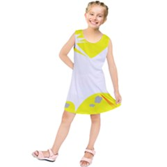 Mail Holyday Vacation Frame Kids  Tunic Dress