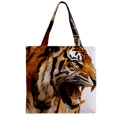 Royal Tiger National Park Grocery Tote Bag by Amaryn4rt