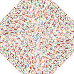 Splash Pattern Color Sign Straight Umbrellas by Jojostore