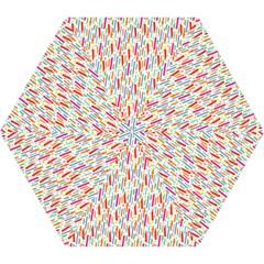 Splash Pattern Color Sign Mini Folding Umbrellas by Jojostore
