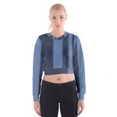 Fibonacci Women s Cropped Sweatshirt by Nexatart