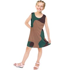 Military Camouflage Kids  Tunic Dress