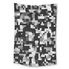 Noise Texture Graphics Generated Large Tapestry by Nexatart