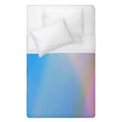 Twist Blue Pink Mauve Background Duvet Cover (single Size) by Nexatart