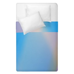 Twist Blue Pink Mauve Background Duvet Cover Double Side (single Size) by Nexatart
