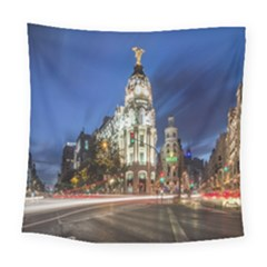 Architecture Building Exterior Buildings City Square Tapestry (large) by Nexatart