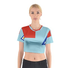 Air Force Ensign ,f Burma, 1948 1974 Cotton Crop Top by abbeyz71