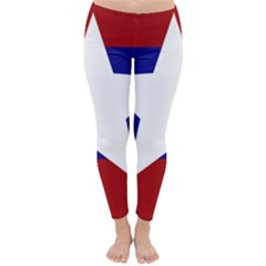 Flag Of The Bureau Of Special Operations Of Myanmar Army Classic Winter Leggings by abbeyz71