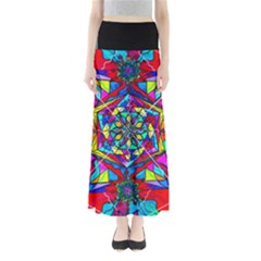 Gratitude   Women s Maxi Skirt by tealswan