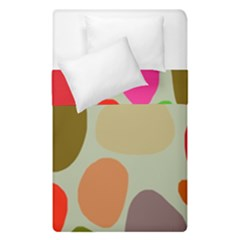 Pattern Design Abstract Shapes Duvet Cover Double Side (Single Size) by Nexatart