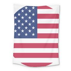American Flag Medium Tapestry by Nexatart