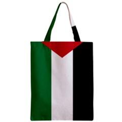 Palestine flag Zipper Classic Tote Bag