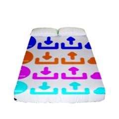 Download Upload Web Icon Internet Fitted Sheet (full/ Double Size)
