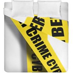 Internet Crime Cyber Criminal Duvet Cover Double Side (king Size) by Nexatart