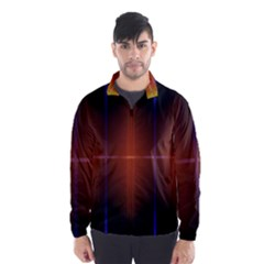 Abstract Painting Wind Breaker (Men) by Nexatart