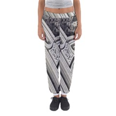Arches Fractal Chaos Church Arch Women s Jogger Sweatpants by Nexatart